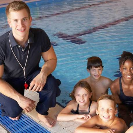 Clases de natación en mi urbanizacion